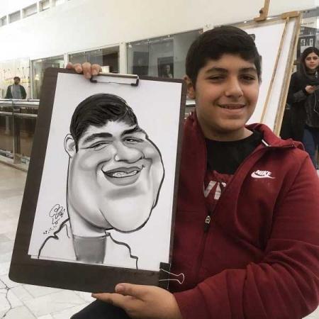 کاریکاتور چهره