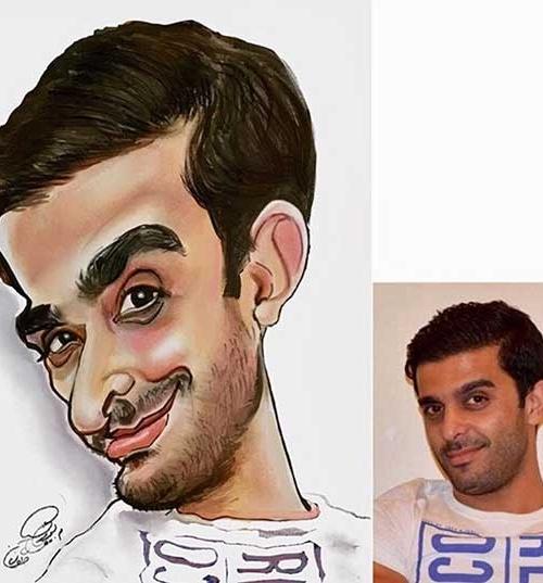 کاریکاتور دیجیتال تهران اصفهان البرز