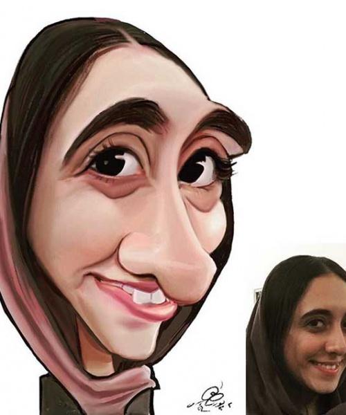 سفارش کاریکاتور دیجیتال
