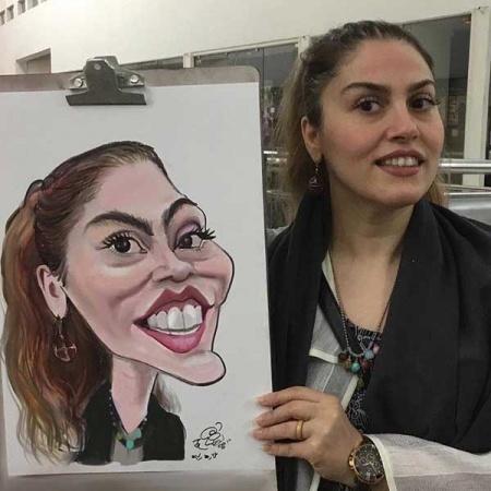 طراحی کاریکاتور از روی عکس