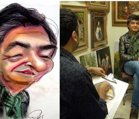 کاریکاتور هنرمندان