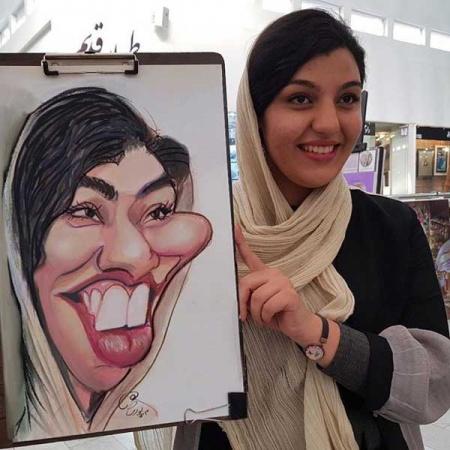 طراحی کاریکاتور با دست