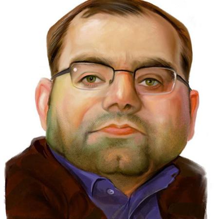 کاریکاتور دیجیتال چهره