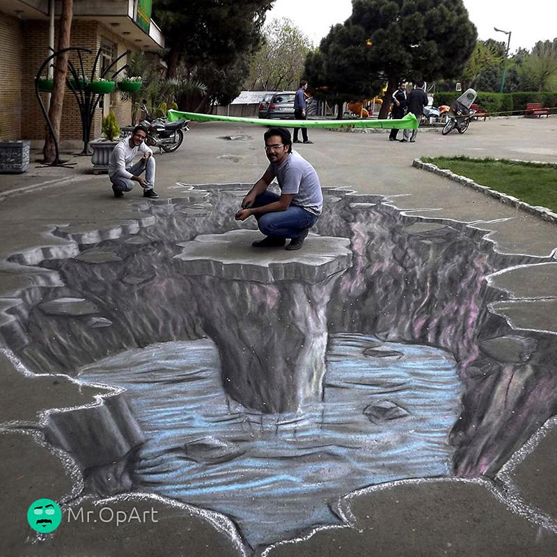نقاشی سه بعدی