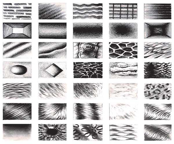 طراحی انواع بافت